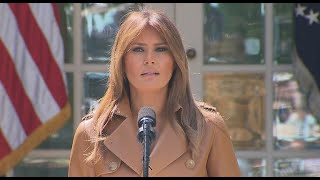 First lady Melania Trump hospitalized for kidney condition