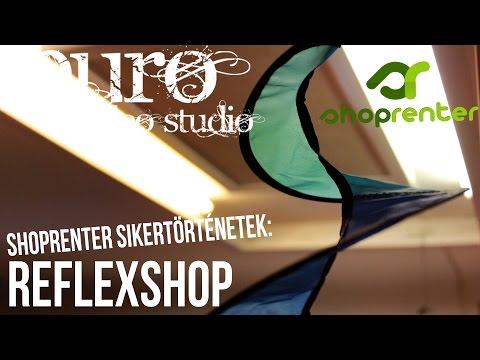 Shoprenter sikertörténetek: Reflexshop