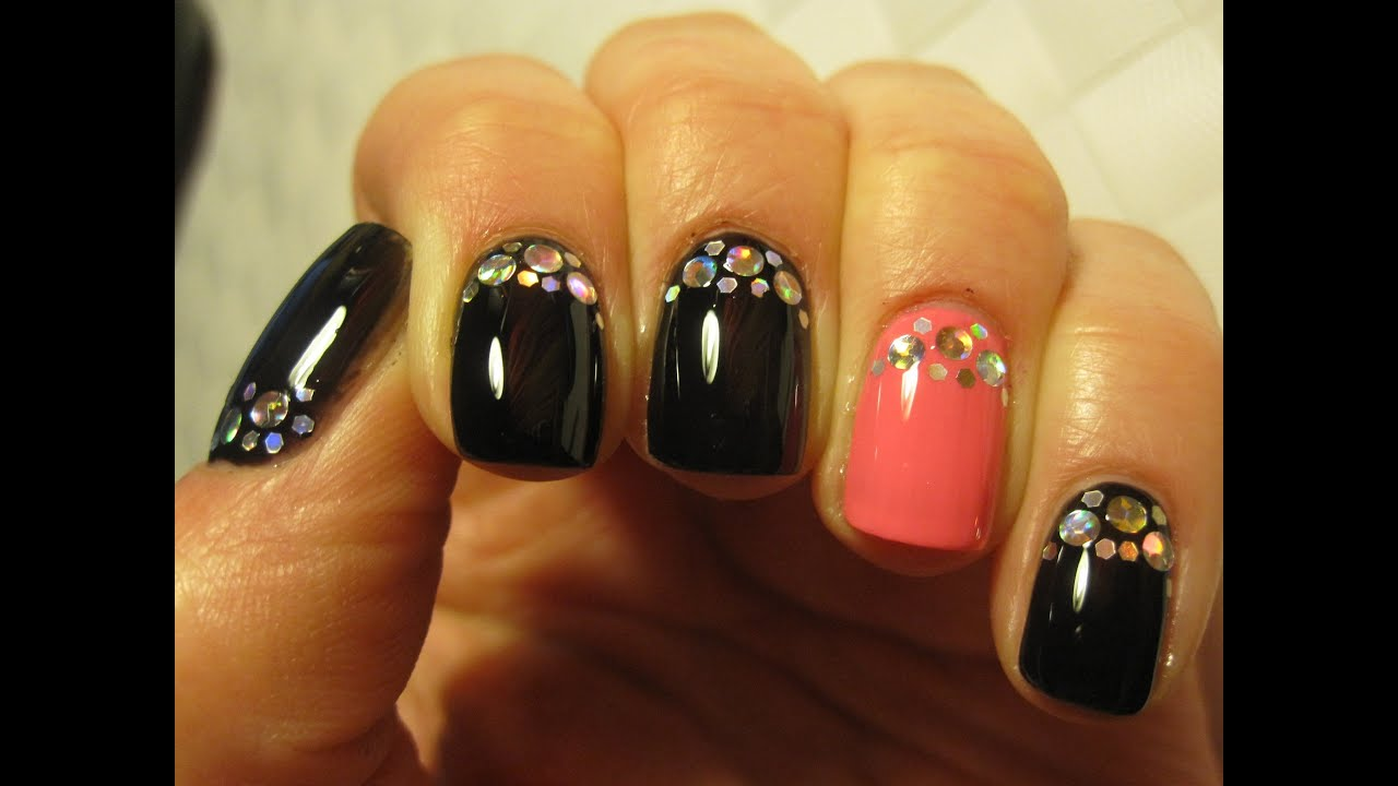 Sylwestrowe Paznokcie Disco Nail New Years Eve Holographic Nail
