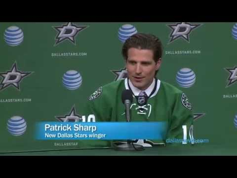 Winger Patrick Sharp traded to the Stars from Chicago