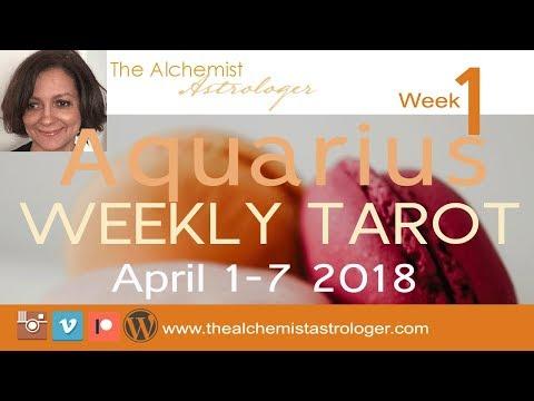 "Aquarius April 1-7 2018/Week 1 General Tarot Reading - ""Gold mine"""