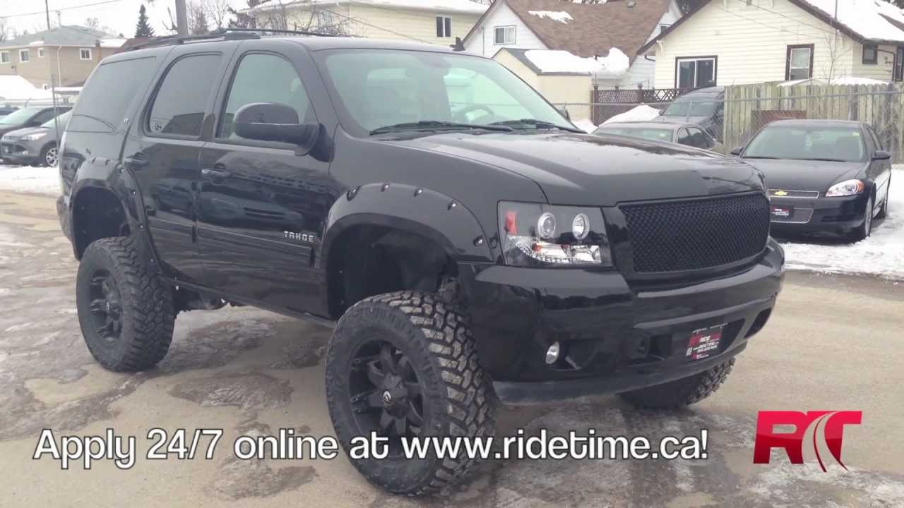 Lifted 2012 Chevrolet Tahoe Lt Winnipeg Mb Custom