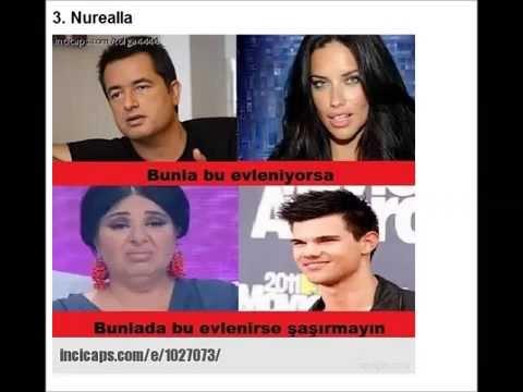Acun Ilıcalı-Adriana Lima Aşk'ı Komik...