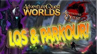 AQ3D PARKOUR & AQWorlds BECOMING SEPULCHURE!! Double Stream - NEW Items!!
