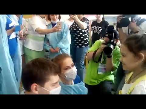 Благотворительная акция Первого канала. Чебоксары, июнь, 1, 2019