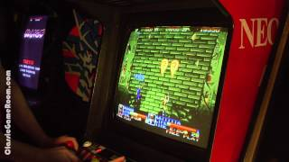 Classic Game Room - NINJA COMMANDO review for Neo-Geo MVS