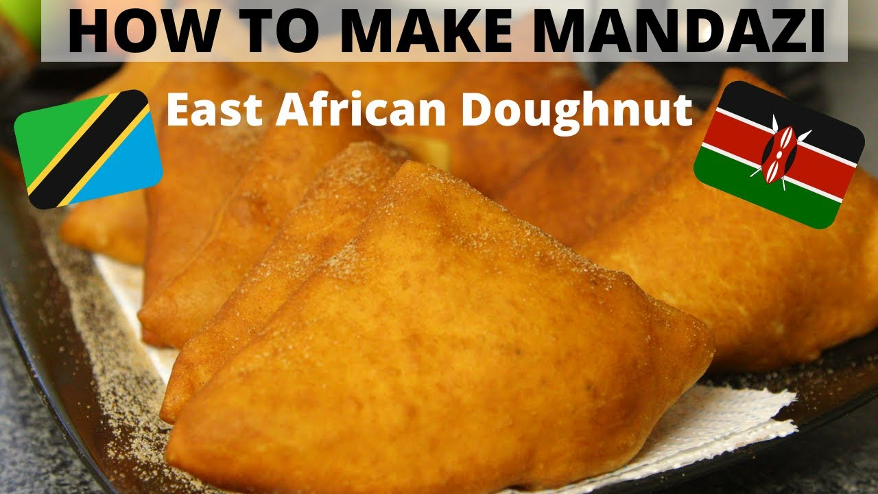 How To Make Mandazi At Home East African Doughnut Easy Mandazi Recipe Youtube