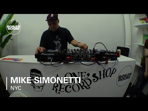 Mike Simonetti Boiler Room NYC Good Times DJ Set