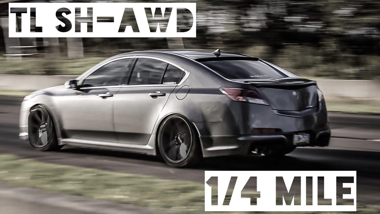 Acura Tl Sh Awd >> Acura TL SH-AWD quarter mile. - YouTube