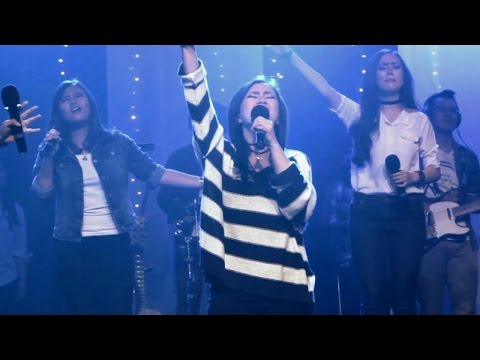GMS WORSHIP - Nyanyi dan Bersoraklah madley To God Be The Glory - One Worship