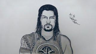 How to Draw Roman Reigns & John Cena | Mr. Artist