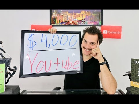 How I Make $4,000 Per Month From Youtube