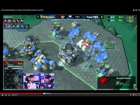 [SPL2015] INnoVation(SKT) vs Flash(KT) Set2 Deadwing Part 1