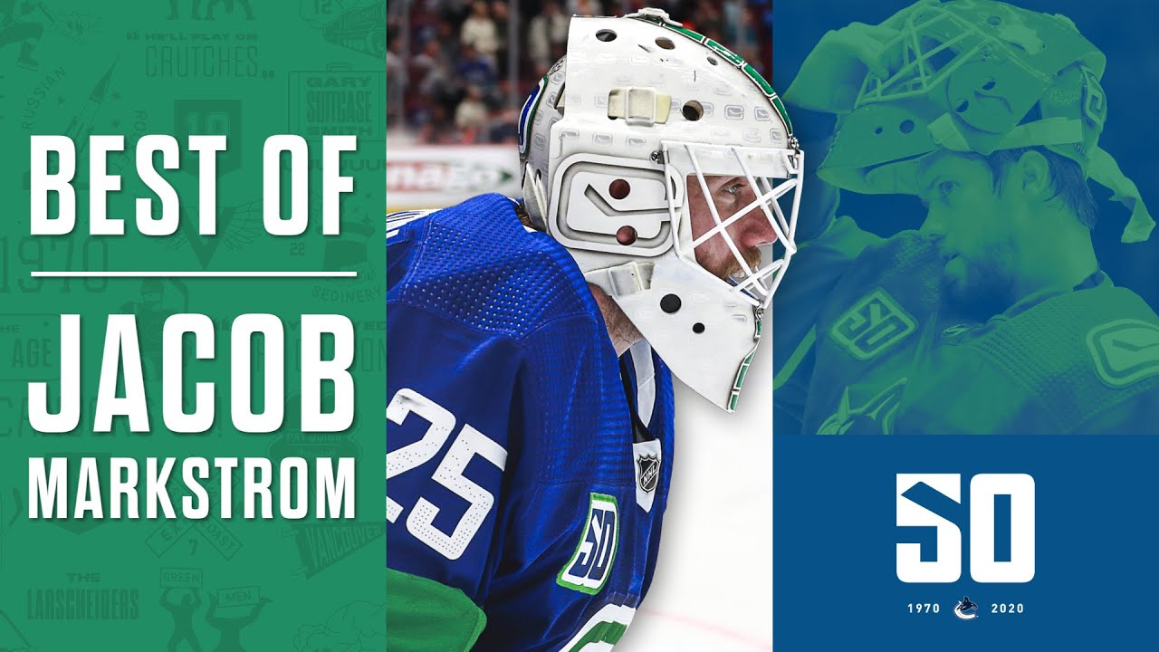 Vancouver Canucks 2019 20 Report Card Jacob Markstrom Vancouver Is Awesome