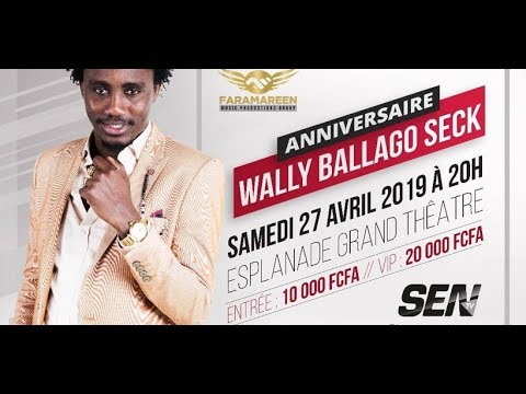 ANNIVERSAIRE WALLY SECK GRAND THEATRE 27 AVRIL 2019 Part4