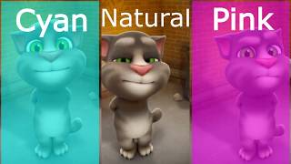Learn Colors with Talking Tom- Three Colours for Kids