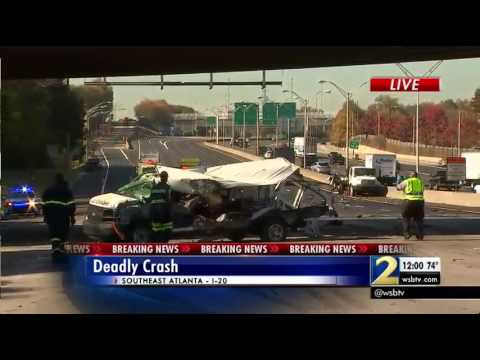 I-20 shut down in Atlanta due to fatal accident