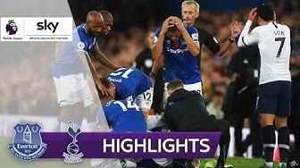 Son verursacht Horror-Foul   FC Everton - Tottenham Hotspur 1:1   Highlights - Premier League