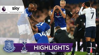 Son verursacht Horror-Foul | FC Everton - Tottenham Hotspur 1:1 | Highlights - Premier League