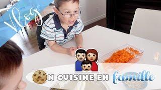 connectYoutube - On cuisine en famille! / Dernière épicerie Costco?! / Vlog #535