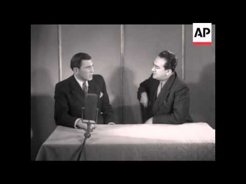 INTERVIEW WITH MAN WHO ARRESTED HIMMLER - SOUND