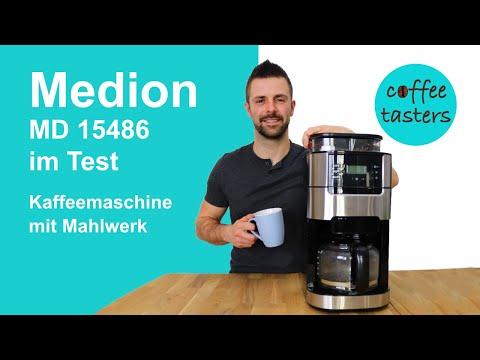 Medion Kaffeemaschine MD 15486 im Test 2
