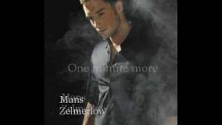 Watch Mans Zelmerlow One Minute More video