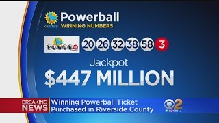 1 Winning Powerball Ticket Sold In Sun City Worth $447M