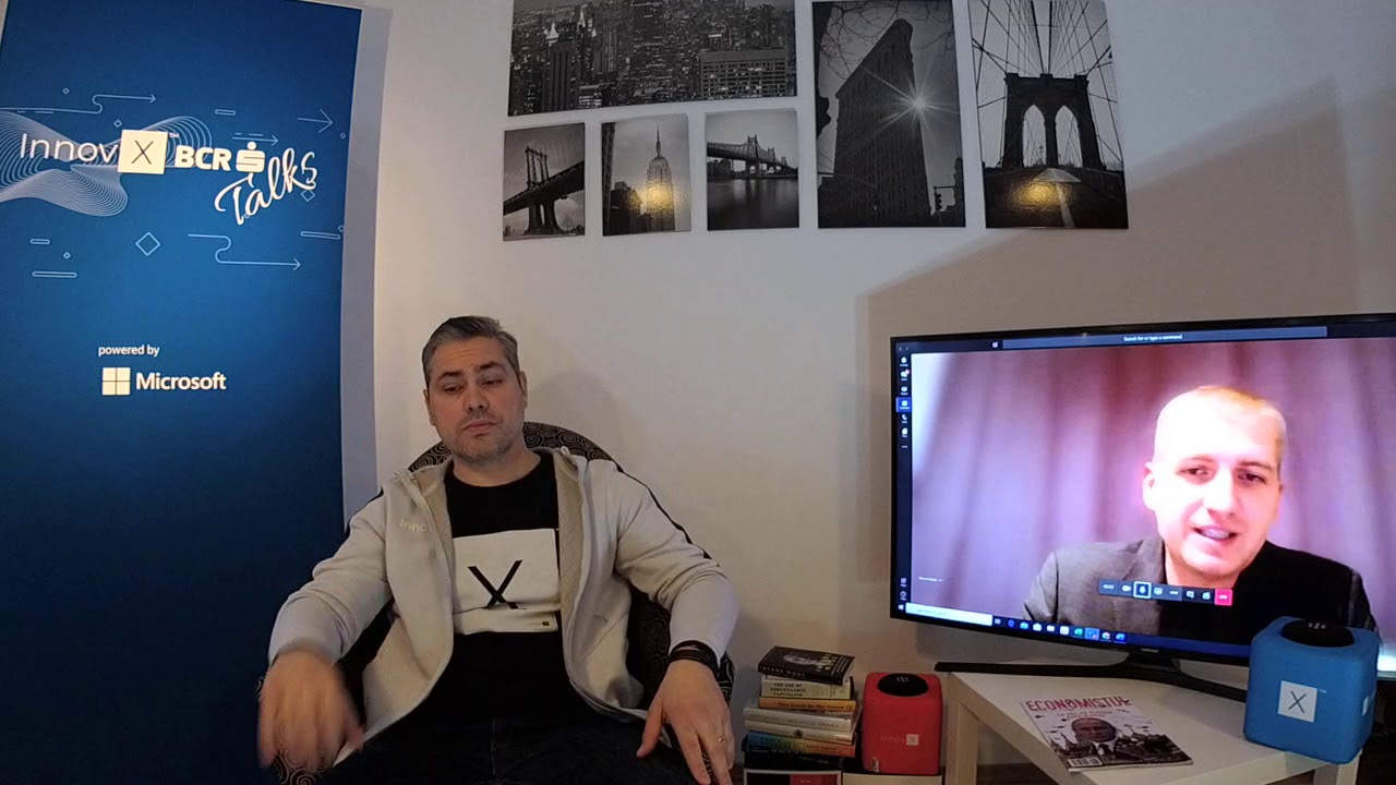 Razvan Boldis, Founder of indexAR @ InnovX - BCR Talks powered by Microsoft