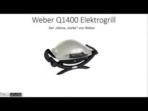 Unterschied Weber Elektrogrill Q 140 Und Q 1400 : Weber q1400 elektrogrill test