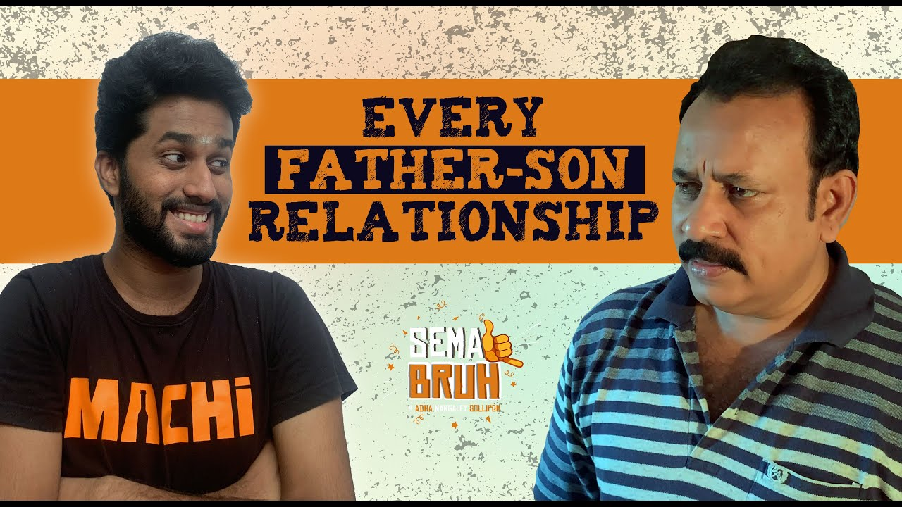 Every Father-Son Relationship | Father's Day Special | Eniyan | Sema Bruh