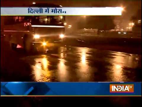 Rainy Wednesday Morning in Delhi - India TV