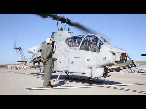 Marines - 3rd Marine Aircraft Wing conducted the last flight of the AH-1W Super Cobra final flight