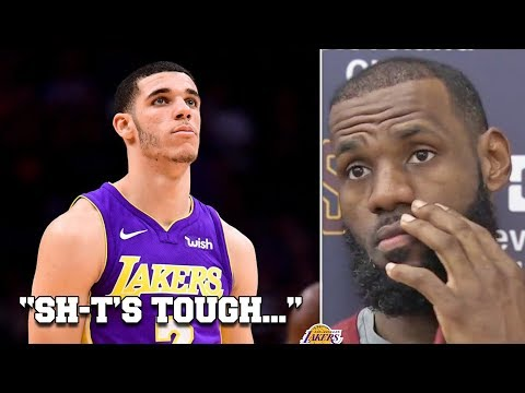 LeBron With Words Of Sympathy, Praise For Lonzo Ball; Zo On Facing The King