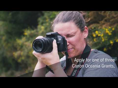 Canon Oceania Grants — Inspiring Tomorrow