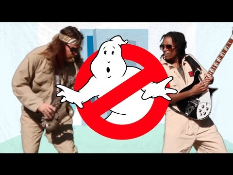 Ghostbusters Theme - Ray Parker Jr. - Lesson 10 - Guitar Basics - Chords and Tab - Play Along