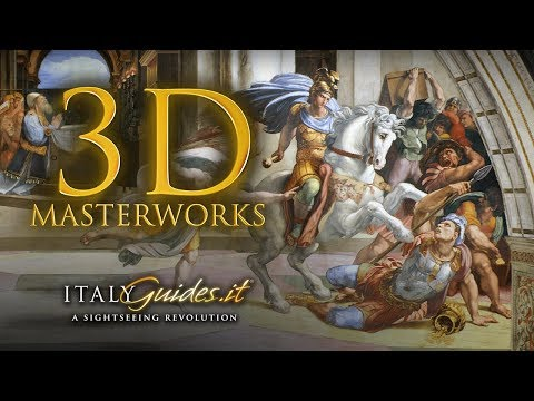 Vatican Museums: Raphael Rooms: Room of Heliodorus - 3D virtual tour & documentary