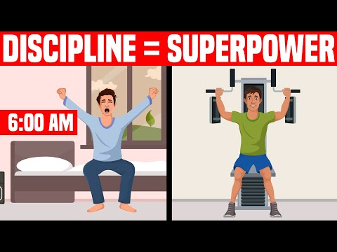 How to Make Self Discipline Your Superpower