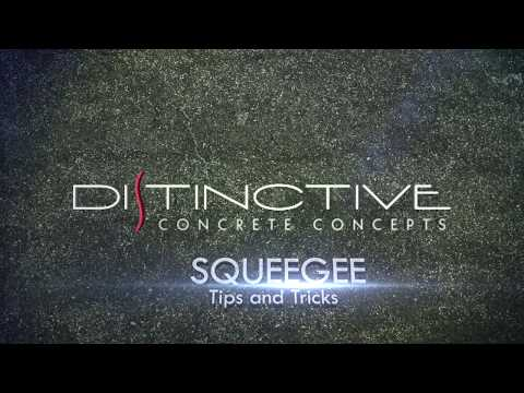 Squeegee 101 - Epoxy Flooring