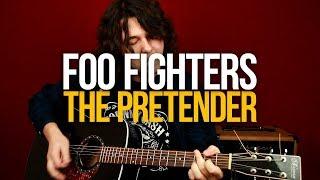 Скачать Как играть Foo Fighters The Pretender на гитаре разбор с табами