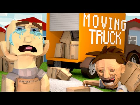 Minecraft | WHO'S YOUR DADDY? We Are Moving Away FOREVER! (Moving From Home)