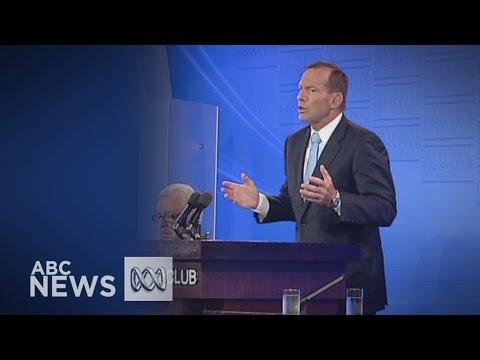 Tony Abbott's National Press Club address