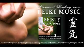 靈氣 Reiki Music Healing: Meditation Frequencies (Full Binaural 3D Therapy with Bell Every 3 Minutes)