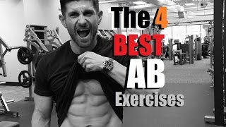 4 BEST Ab Exercises To Get Your Abs To Show | My Go-To Ab Routine