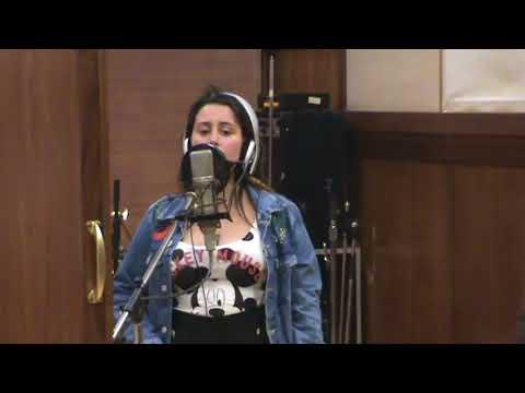 Marcha do Alto Pina grava em estudio a musica para o CD
