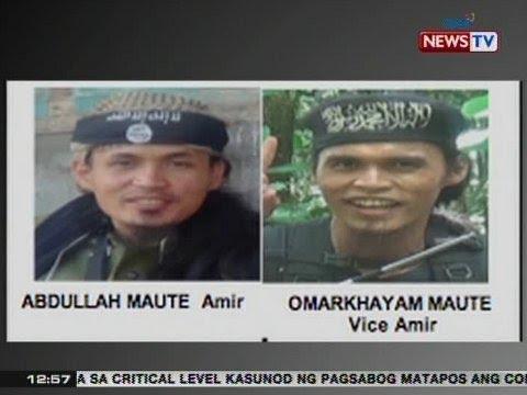 Magkapatid ng nag-aral sa Middle East, pinuno ng Maute Group na nagdeklara ng pagsuporta sa ISIS