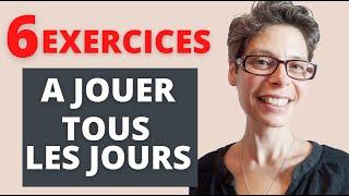 🎹 Jouez ces 6 EXERCICES tous les jours 🔥
