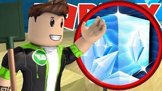 DIAMOND BLOCK THERE FROM!! /Roblox Treasure Hunt Simulator #4/Game Safi