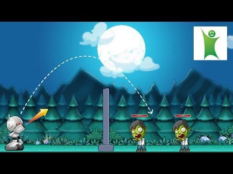 Онлайн игра роботы против зомби