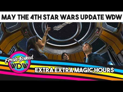 UPDATE! Star Wars Hotel Construction, Galaxy's Edge, Extra Extra Magic Hours | Fresh Baked WDW